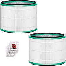DEPURATORE DELL'ARIA Dyson Filtro Hepa 360 VENTILATORE DA TAVOLO PURO CALDO FREDDO Collegamento x 2 + Deodoranti