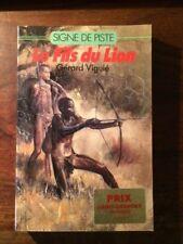 SIGNE DE PISTE N°142/Gérard VIGUIE/LE FILS DU LION  1988 EO ill René FOLLET