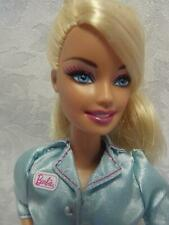 "Barbie I Can Be Dentist 12"" Doll with Her Original Blue and Pink One Piece Dress"