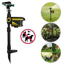 Motion Activated Animal Repeller Garden Sprinkler Scarecrow Black Hot Sale SL