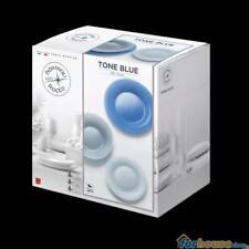 Piatti bormioli 18 pezzi tone blue new acqua set