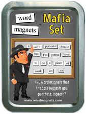 Word Magnets Mafia Set