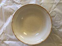 "Baroque Hearthside Stoneware- 6 3/4"" Soup/Salad Bowls/Japan"