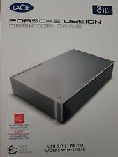 LaCie Porsche Design desktop drive 8 TB      USB 3.0 disque dur