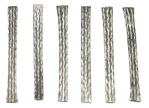 Scalextric Easy-Fit Pick-Up Braids for Guide Blades, 6/pk C8075