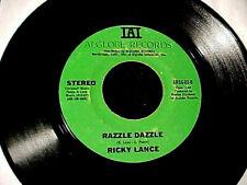 RARE GROOVE FUNK SOUL 45 RICKY LANCE Razzle Dazzle/Again And Again ORIGINAL~Hear