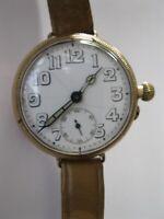 W.W.1 Tavannes / Cyma large Borgel trench watch.