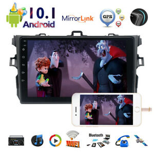 """9"""" Android 10.1 Car Radio Bluetooth For Toyota Corolla 2009-2013 GPS Stereo+Cam"""
