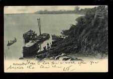 West africa France Senegal RUFISQUE Boats u/b PPC 1910