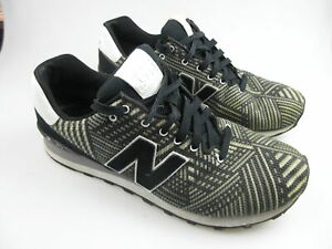 Men's NEW BALANCE '574 Sample' Sz 9?? Runners Black ExCon   3+ Extra 10% Off