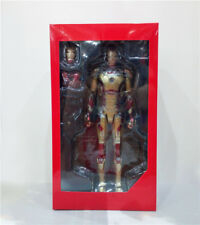 Iron Man Mark XLII Mk42 With LED Light 16th Scale Collectible Figure Model Toy
