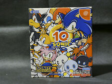 Factory Sealed Sonic Adventure 2 Birthday Pack Dreamcast Jap