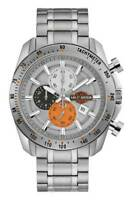 Harley-Davidson Men's Vintage B&S Chronograph Stainless Steel Watch 76B186