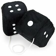 """Pudgy Pedro's 3"""" Hanging Fuzzy Plush Dice 