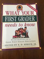 What Your First Grader Needs to Know Homeschool 1st teach book