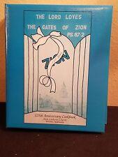 WORMS NEBRASKA ZION LUTHERAN CHURCH COOK BOOK 125th Anniverssary 1879-1999