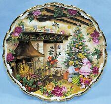 ROYAL ALBERT FRED ERRILL BONE CHINA COLLECTOR PLATE CHRISTMAS JOY