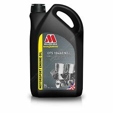 Millers CFS 10W60 NT+ Motorsport Engine Oil Fully Synthetic 5L  7965GMS - SPOOX