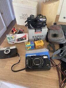 vintage camera job lot