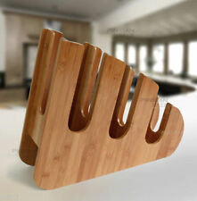 Paper Cup and Lid Holder Dispenser Wood Rack Stand Coffee Shop Counter Cafe