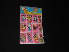 OLD TERRYTOONS 3 DIMENSIONAL STICKERS HECKLE JECKLE MIGHTY MOUSE DEPUTY DOG MIP