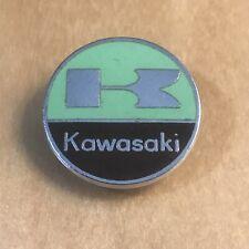 VINTAGE KAWASAKI MOTORCYCLE BIKE BADGE