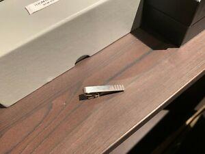 Thom Browne 4-Bar Sterling Silver Long Tie Bar