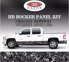 "Urban Digital Camo Rocker Panel Graphic Decal Wrap Truck SUV - 12"" x 24FT"