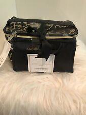 Nwt Adrienne Vittadini 2 Piece Set Chain Print Cosmetic Bags/Travel Train Cases