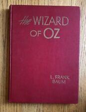 The WIZARD of OZ Evelyn Copelman Bobbs-Merrill Vintage 1944 Edition