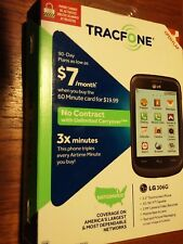 LG 306G  (TracFone) Cell Phone-3G Wi-Fi / Triples Airtime for Life of Phone 3X