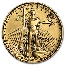 1989 1/10 oz Gold American Eagle BU (MCMLXXXIX) - SKU #4698