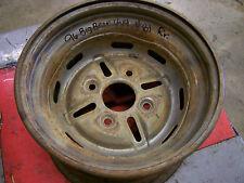 yamaha big bear rear back rim wheel silver yfm350 350 yfm350fw 4x4 96 wolverine