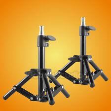 2 PCS Photographic Mini Light Stand Tripod Studio Table Top Lightstand