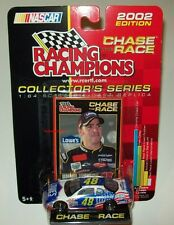 Jimmie Johnson 2002 Lowes Power of Pride #48 Rookie Chase the Race 1/64 New