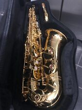 VERY RARE YAMAHA YAS-855 CUSTOM ALTO SAXOPHONE SAX W/M1 NECK AND SELMER C* LOOK!