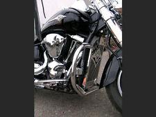 S) Kawasaki Vulcan VN 2000 Highway Paramotore Protezione Motore Acciaio Inox