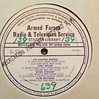 RADIO SHOW: AFN 35-7 NED MILLER, HANK WILLIAMS, FLATT & SCRUGGS, SLIM WHITMAN