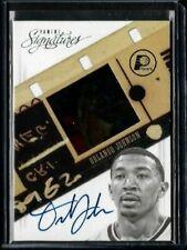 2013 Panini Signatures and Negative Orlando Johnson Pacers