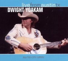 DWIGHT YOAKAM LIVE FROM AUSTIN TX COUNTRY ROCK CD NEW