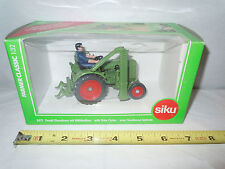 Fendt Dieselross Tractor With Side Cutter By Siku 1/32nd Scale