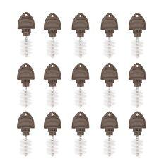 New listing Beer Tap Plugs Brush Faucet Brush Plugs for Draft Beer Faucet Cap 15 Pack New