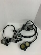 Vintage Subs Diving Gear, Regulator With Gauges, Diving Mask, Decoration Pieces