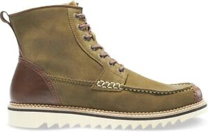 Wolverine Mens Driscoll Size 9 Moc-Toe Boot, Olive Suede, Work Boot, REI, Hiking