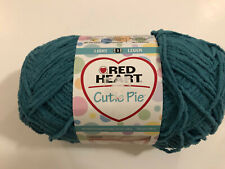 RED HEART CUTIE PIE #3 Light Weight Yarn Skein - Color DESTINY