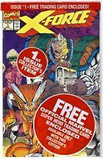 X-FORCE Vol.1 #1(8/91)POLYBAGGED w/SHATTERSTAR CARD(3rd WARPATH)CGC IT(9.8)X-MEN