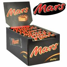 Mars Classic Single Bar 51g Chocolate Bars (Pack of 24) BEST BEFORE AUGUST 2017