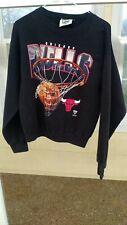 Lee Sport Vintage 90's Chicago Bulls Jordan Crewneck Sweatshirt NBA Large Black
