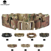 Emerson Tactical Heavy Duty Belt MOLLE / PALS Style Padded Patrol Battle Belts