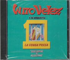 Wito Velez - La Conga Presa Exitos Y Mas - Rare and Hard To Find New CD - 1203